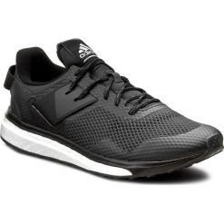 Buty adidas - Response 3 m BA8336 Cblack/Dkgre. Czarne buty sportowe męskie Adidas, z materiału. W wyprzedaży za 279.00 zł.