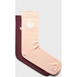 Adidas Originals - Skarpetki (2-pack). Szare skarpety damskie adidas Originals, z bawełny. Za 39.90 zł.