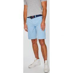 U.S. Polo - Szorty. Szare szorty męskie U.S. Polo, w paski, z bawełny, casualowe. W wyprzedaży za 279.90 zł.
