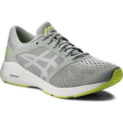 Buty ASICS - RoadHawk FF T7D2N Mid Grey/White/Safety Yellow 9601. Szare buty sportowe męskie Asics, z materiału. W wyprzedaży za 319.00 zł.