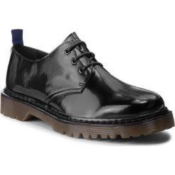 Półbuty TRUSSARDI JEANS - 77A00125 K299. Czarne półbuty na co dzień męskie TRUSSARDI JEANS, z jeansu. Za 619.00 zł.