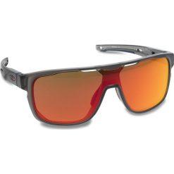 Okulary przeciwsłoneczne OAKLEY - Crossrange Shield OO9387-0431 Matte Grey Smoke/Prizm Ruby. Szare okulary przeciwsłoneczne męskie Oakley, z tworzywa sztucznego. W wyprzedaży za 579.00 zł.