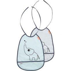 Done by Deer Śliniaki Elphee 2szt Blue. Niebieskie śliniaki dla dzieci Done by deer. Za 51.68 zł.