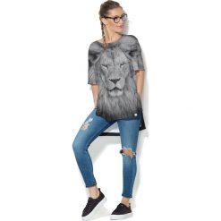 Colour Pleasure Koszulka CP-033  244 szara r. uniwersalny. Bluzki damskie marki Colour Pleasure. Za 76.57 zł.