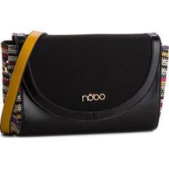 Torebka NOBO - NBAG-E3380-C020 Czarny. Czarne torebki do ręki damskie Nobo, z materiału. W wyprzedaży za 139.00 zł.