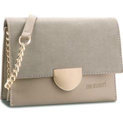 Torebka MONNARI - BAG0580-019 Grey/Beige. Brązowe torebki do ręki damskie Monnari, ze skóry ekologicznej. W wyprzedaży za 139.00 zł.