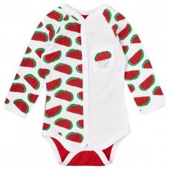 Garnamama Body Dziecięce Z Melonami 56 Biały/Czerwony. Białe body niemowlęce Garnamama. Za 35.00 zł.