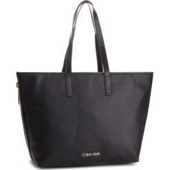 Torebka CALVIN KLEIN - Drive Shopper K60K604460 001. Czarne torebki shopper damskie Calvin Klein, ze skóry ekologicznej. Za 699.00 zł.