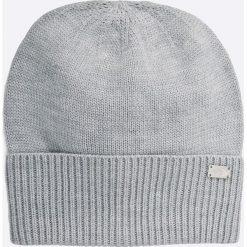 The North Face - Czapka. Szare czapki i kapelusze damskie The North Face, z dzianiny. W wyprzedaży za 69.90 zł.