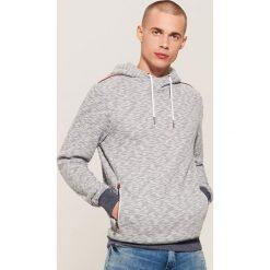 Bluza hoodie - Granatowy. Niebieskie bluzy męskie House. Za 129.99 zł.