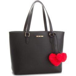 Torebka LOVE MOSCHINO - JC4322PP06KW0000  Nero. Czarne torebki do ręki damskie Love Moschino, ze skóry ekologicznej. Za 719.00 zł.