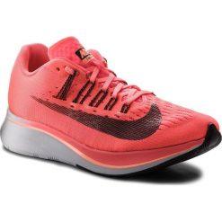 Buty NIKE - Zoom Fly 897821 600 Hot Punch/Black/Crimson Pulse. Czerwone obuwie sportowe damskie Nike, z materiału. W wyprzedaży za 459.00 zł.