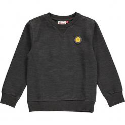 """Bluza """"Sebastian 712"""" w kolorze ciemnoszarym. Zielone bluzy dla chłopców marki Lego Wear Fashion, z bawełny, z długim rękawem. W wyprzedaży za 82.95 zł."""