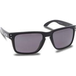 Okulary przeciwsłoneczne OAKLEY - Holbrook Xl OO9417-0159 Matte Black/Warm Grey. Czarne okulary przeciwsłoneczne męskie Oakley, z tworzywa sztucznego. W wyprzedaży za 419.00 zł.