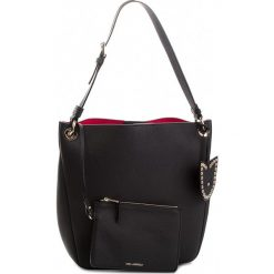 Torebka KARL LAGERFELD - 86KW3029 Black. Czarne torebki do ręki damskie KARL LAGERFELD, ze skóry. W wyprzedaży za 939.00 zł.