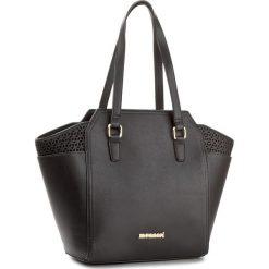 Torebka MONNARI - BAG1000-020 Black. Czarne torebki do ręki damskie Monnari, ze skóry ekologicznej. W wyprzedaży za 139.00 zł.