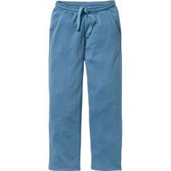 Spodnie sportowe bonprix niebieski dżins. Spodnie sportowe męskie marki bonprix. Za 54.99 zł.