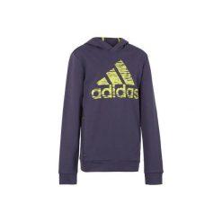 Bluza fitness ADIDAS. Niebieskie bluzy dla chłopców Adidas. W wyprzedaży za 89.99 zł.