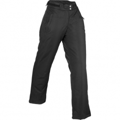 Długie spodnie ocieplane funkcyjne, watowane bonprix czarny. Spodnie materiałowe damskie marki DOMYOS. Za 189.99 zł.