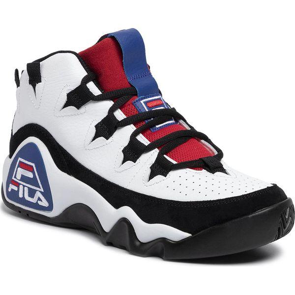 Sneakersy FILA 95 Grant Hill 1 1010579 WhiteBlackFila Red