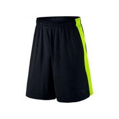 """Nike Spodenki Sportowe Fly 9"""" 742517 011 L. Czarne krótkie spodenki sportowe męskie Nike. W wyprzedaży za 99.00 zł."""