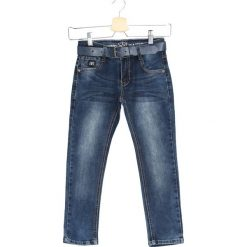 Granatowe Jeansy Second Sun. Jeansy dla chłopców marki Reserved. Za 29.99 zł.