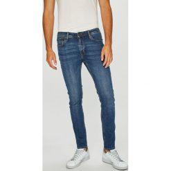 Jack & Jones - Jeansy Liam. Niebieskie jeansy męskie Jack & Jones. W wyprzedaży za 129.90 zł.