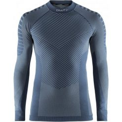 Craft Koszulka Męska Active Intensity Niebieska L. Niebieskie koszulki sportowe męskie Craft, z długim rękawem. Za 165.00 zł.