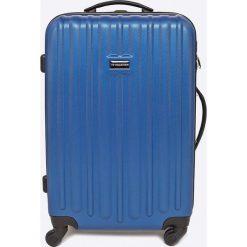VIP COLLECTION - Walizka 64 L. Szare walizki męskie VIP COLLECTION, z materiału. W wyprzedaży za 279.90 zł.