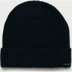 Guess Jeans - Czapka. Czarne czapki i kapelusze męskie Guess Jeans. Za 149.90 zł.