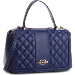 Torebka LOVE MOSCHINO - JC4007PP16LA0750  Blu. Niebieskie torebki do ręki damskie Love Moschino, ze skóry ekologicznej. W wyprzedaży za 649.00 zł.