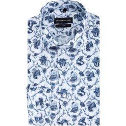 Koszula SIMONE KDWS000389. Szare koszule męskie Giacomo Conti, na lato, z bawełny, z włoskim kołnierzykiem. Za 199.00 zł.
