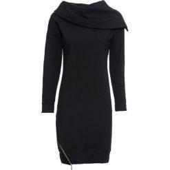 Sukienka bonprix czarna. Czarne sukienki damskie bonprix, sportowe. Za 149.99 zł.