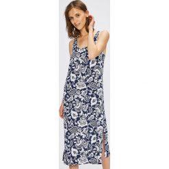 Lauren Ralph Lauren - Koszula nocna. Szare koszule nocne damskie Lauren Ralph Lauren, z bawełny. W wyprzedaży za 199.90 zł.