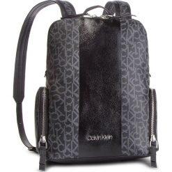 Plecak CALVIN KLEIN - Mono Black Backpack K60K604690 904. Czarne plecaki damskie Calvin Klein, ze skóry ekologicznej, sportowe. Za 749.00 zł.