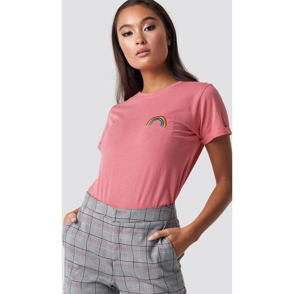 e3bee1fe5 Sisters Point T-shirt Herm 19 - Pink - T-shirty damskie Sisters ...