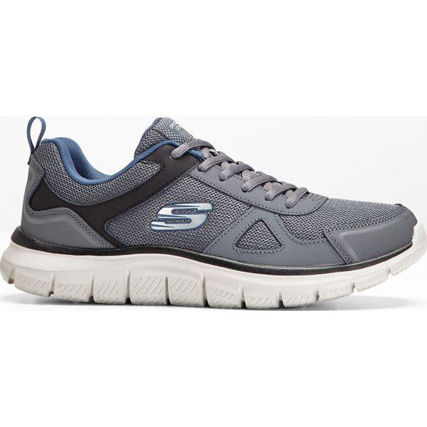Sneakersy Skechers z pianką Memory bonprix szaro niebieski