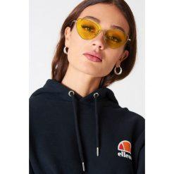 NA-KD Accessories Okulary przeciwsłoneczne Cat Eye - Yellow. Żółte okulary przeciwsłoneczne damskie NA-KD Accessories. Za 60.95 zł.