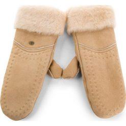 Rękawiczki Damskie EMU AUSTRALIA - Otways Mittens Chestnut. Brązowe rękawiczki damskie Emu Australia, na zimę, z materiału. Za 429.00 zł.