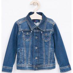 Pepe Jeans - Kurtka dziecięca New Berry 92-180 cm. Szare kurtki i płaszcze dla dziewczynek Pepe Jeans, z bawełny. W wyprzedaży za 269.90 zł.