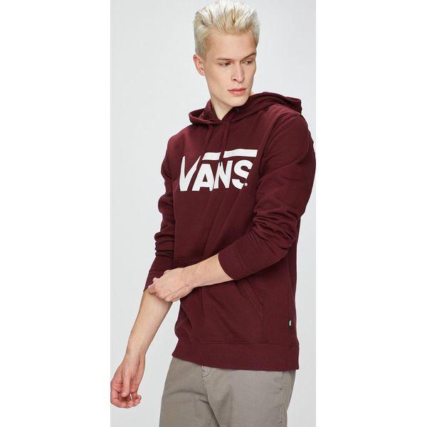 b129bb5498b0a Vans - Bluza - Szare bluzy męskie marki Vans, z nadrukiem, z bawełny. W  wyprzedaży za 229.90 zł. - Bluzy męskie - Odzież męska - Dla mężczyzn -  Chillizet.pl
