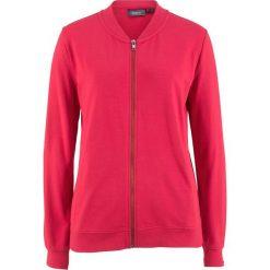 Bluza rozpinana z kołnierzykiem w stylu college bonprix czerwony. Bluzy damskie marki KALENJI. Za 49.99 zł.
