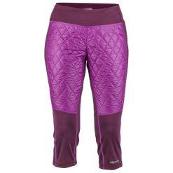 Marmot Spodnie Damskie Wm's Toaster Capri Dark Purple/Grape L. Fioletowe spodnie sportowe damskie Marmot. Za 349.00 zł.