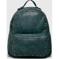Answear - Plecak. Szare plecaki damskie ANSWEAR, w paski, ze skóry ekologicznej. W wyprzedaży za 69.90 zł.
