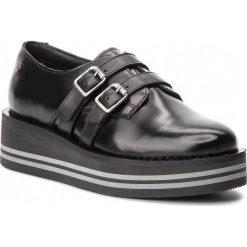 Półbuty TOMMY HILFIGER - Modern Flatform Shoe FW0FW03643 Black 990. Czarne półbuty damskie Tommy Hilfiger, z materiału. Za 599.00 zł.