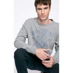 Jack & Jones Vintage - Bluza. Szare bluzy męskie Jack & Jones Vintage, z nadrukiem, z bawełny. W wyprzedaży za 69.90 zł.