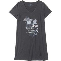 Koszula nocna, bawełna organiczna bonprix nocny niebieski. Niebieskie koszule nocne damskie bonprix, z bawełny. Za 34.99 zł.