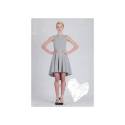 Sukienka Hortensia. Szare sukienki damskie La folie, z dekoltem na plecach. Za 329.00 zł.