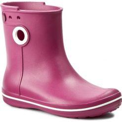 Kalosze CROCS - Jaunt Shorty Boot W 15769 Berry. Czerwone kozaki damskie Crocs, z tworzywa sztucznego. W wyprzedaży za 139.00 zł.