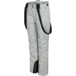 Spodnie narciarskie damskie SPDN300 - chłodny jasny szary melanż. Spodnie materiałowe damskie marki DOMYOS. Za 249.99 zł.